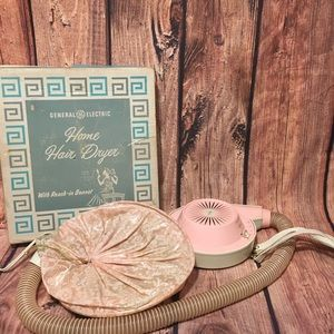 GE Vintage Hair Dryer Tested And Works!